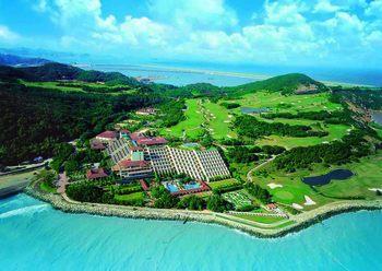 Aerial view of Westin Resort Macau.