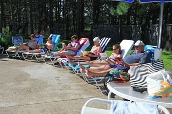 Relax by the Pool at Trout Creek Condominium Resort