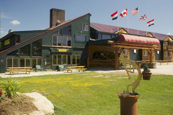 Exterior view of The Mountain Inn.