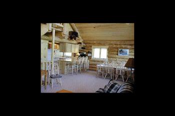 Lodge interior at Cedar Valley Lodge.
