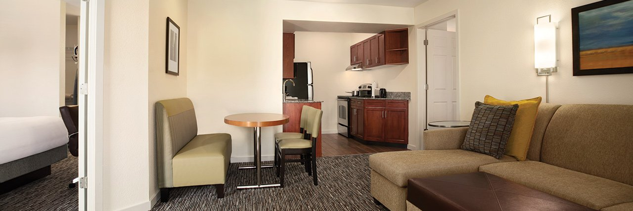 Guest Room at Hyatt House Pleasanton