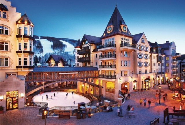Exterior view of Arrabelle at Vail Square.