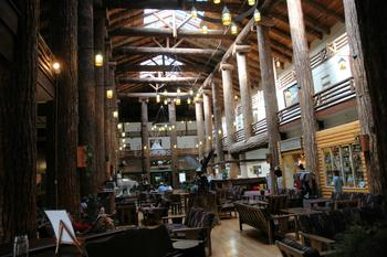 Lodge interior at Five Star Rentals of Montana.