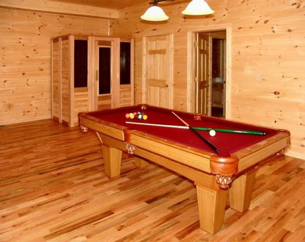 Vacation Rental Interior at Stony Brook Chalets