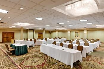 Conference room at Garden Plaza Hotel.
