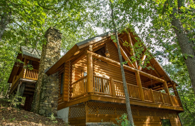 Cinnamon Valley Luxury Log Cabins Eureka Springs Ar