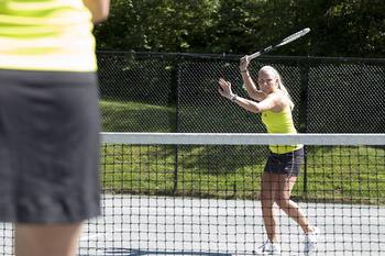 Tennis at Topnotch Resort.