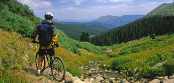 Biking trails at Aspen Winds.