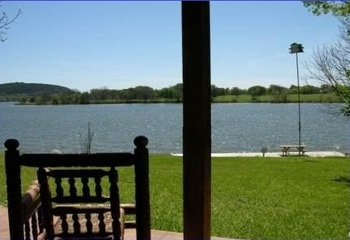 Lake view at Rio Vista Resort.