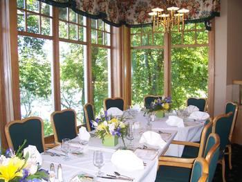 Party table at The Geneva Inn.