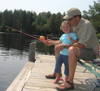 Fishing at Moose Track Adventures Resort