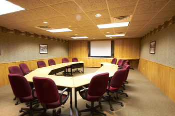Conference room at Ruttger's Bay Lake Lodge.