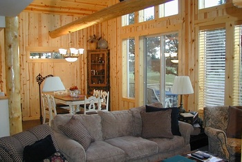 Chalet Interior at Eagle Crest Resort