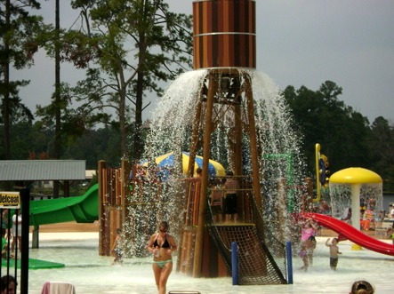 Water park at Yogi on the Lake.