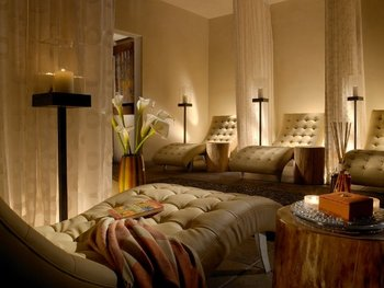 The spa at La Posada de Santa Fe Resort & Spa.