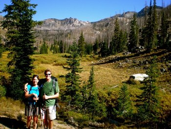 Guided hiking tours at Vista Verde Ranch.