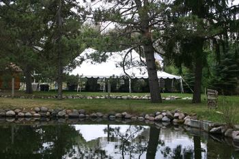 Wedding venue at White Birch Village Resort.