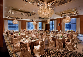 Wedding venue at Hotel Omni Mont-Royal.