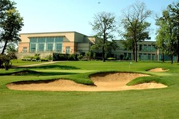 Golf course at Eaglewood Resort.