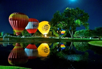Balloon Festival at Tubac Golf Resort & Spa
