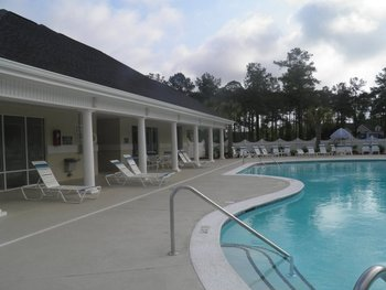 Outdoor Pool at Brunswick Plantation Resort