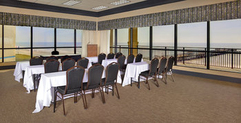 Conference room at Springmaid Beach Resort.