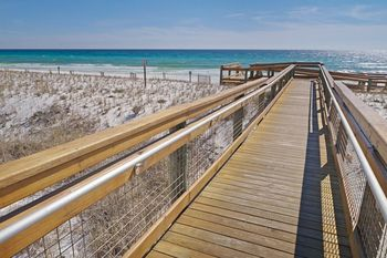 The beach at SkyRun Vacation Rentals - Destin, Florida.