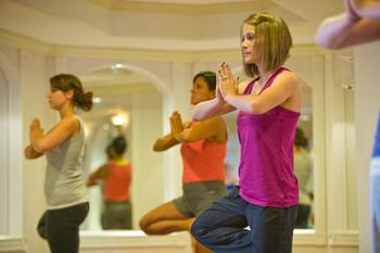 Fitness Classes at Mountain View Grand Resort