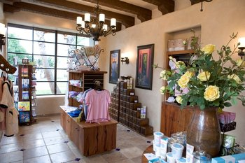 Spa lobby at Tubac Golf Resort.