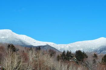 Mountain view at Waterville Valley Resort.