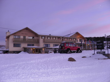 Exterior view of Eiger Chalet.
