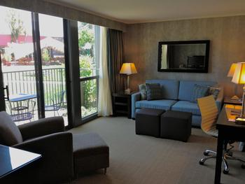 Poolside suite at Flamingo Conference Resort and Spa.