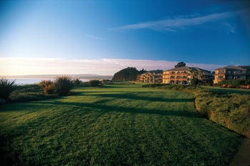 Exterior view of Seascape Beach Resort Monterey Bay.