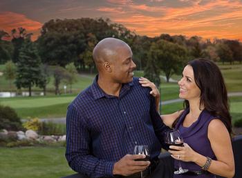 Couple at Eaglewood Resort & Spa.