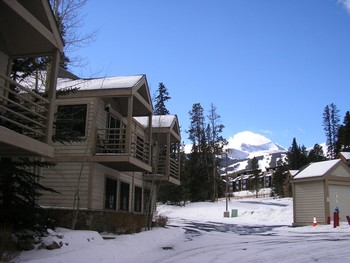 Rental exterior a tWildwood Suites.