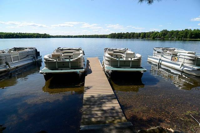 Grand pines resort hayward wi resort reviews for Northern wisconsin fishing resorts