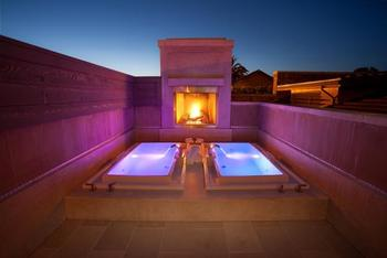 Spa baths at Villagio Inn and Spa.
