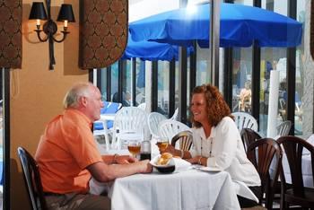 Dining at Long Bay Resort.