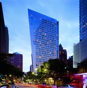Exterior view of Sofitel Chicago Water Tower.