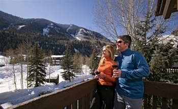 Winter at Vail Racquet Club.