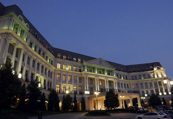 Exterior view of Nemacolin Woodlands Resort.