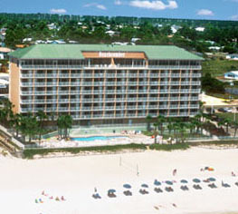 Exterior View of Beachcomber by the Sea