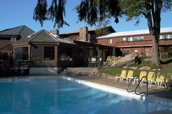 Outdoor pool at The Summit Lodge & Resort.