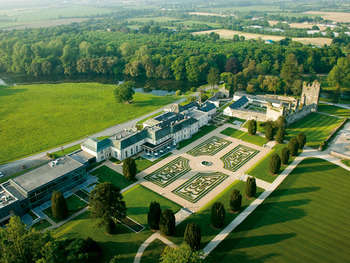 Aerial view of Castlemartyr.