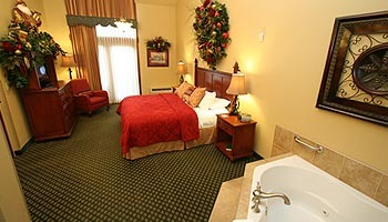 Suite Interior at The Inn at Christmas Place