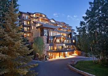 Exterior view of Lumiere Telluride.