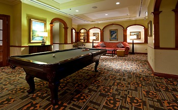 Game Room at The Waterfront Beach Resort