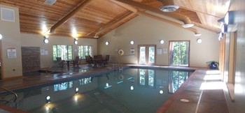 Indoor pool at Wilderness Resort Villas.