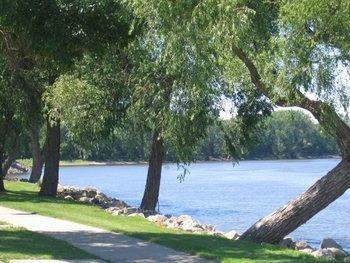 Park near Nichols Inn & Suites.