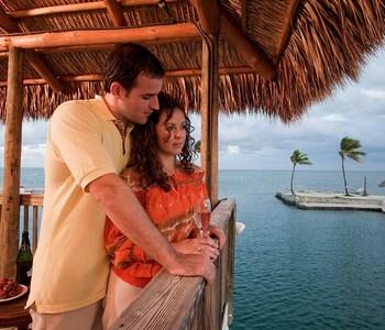 Couple at Chesapeake Beach Resort.